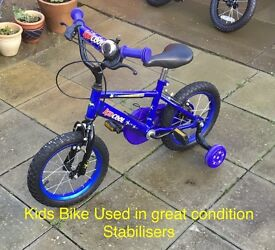 Bike for 5-6 year old with stabilisers
