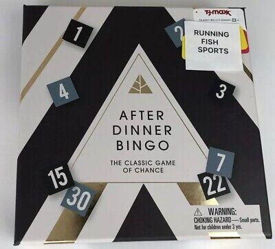 After Dinner Bingo. Christmas Gift Idea. ()