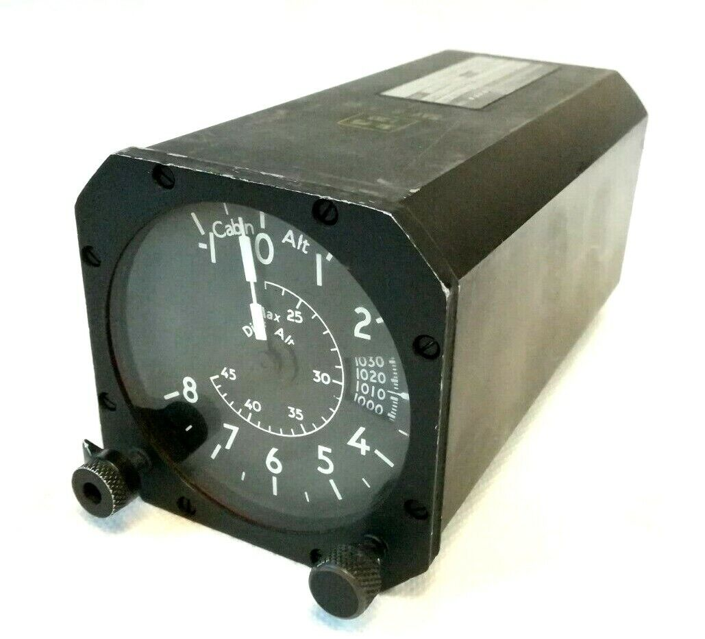 Smiths Aircraft Cabin Rate Pressure Controller KL3 0201W