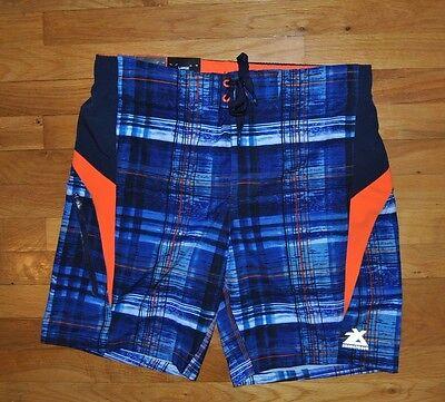 NWT Mens ZeroXposur Navy Blue Swim Shorts Trunks Swimsuit Size XL X-Large