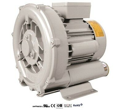 Pacific Regenerative Blower Pb-101 Hrb-101 Ring Vacuum And Pressure Blowers