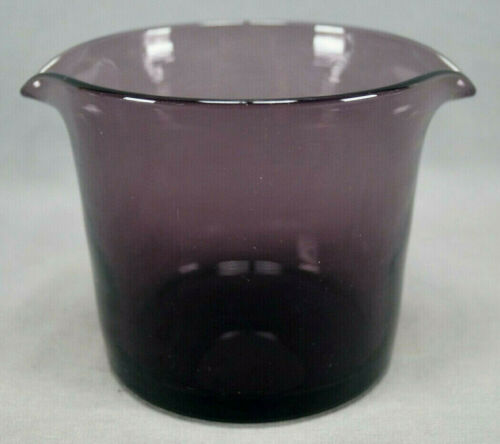Early 19th Century Possibly British Amethyst Hand Blown Flint Glass Wine Rinser