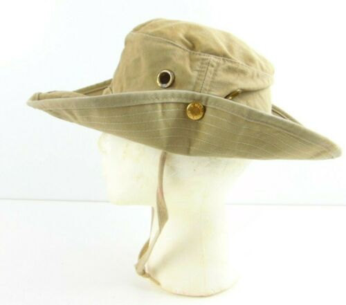 The Ultimate Hat Khaki Size 7 3/8 Made In USA