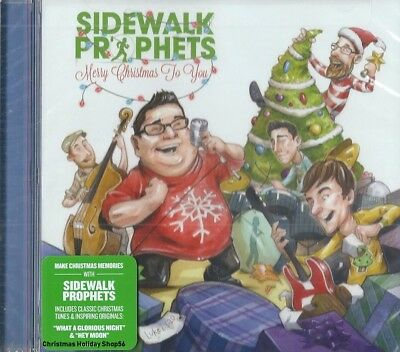 SIDEWALK PROPHETS - Merry Christmas To You - Christian Artists Christmas CCM CD ()