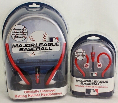Used, Lot of 2 Boston Red Sox Nation MLB Earbuds and Headphones 2018 World Champions! for sale  Central Falls