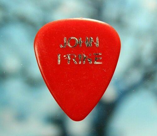 John Prine // Vintage Tour Concert Guitar Pick // Red/Chrome