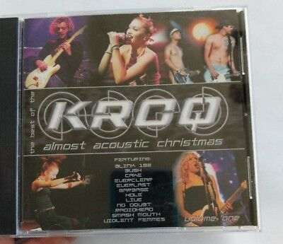The Best of KROQ Almost Acoustic Christmas by Various Artists CD 1999 OOP ()
