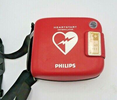 Philips Aed Frx Heartstart Defibrillator With Smart Pads Ii Battery Case