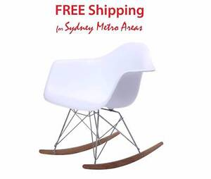 Clearance SALE - Eames Style RAR Rocking Chair Zetland Inner Sydney Preview
