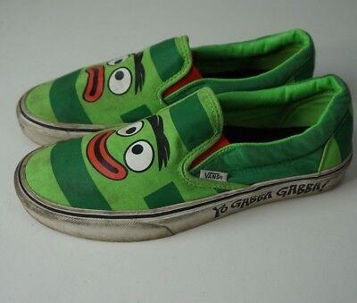 Yo Gabba Gabba Brobee Vans Sneakers Shoes Men's Size 8.5 Women's Size 10](Yo Gabba Gabba Shoes)