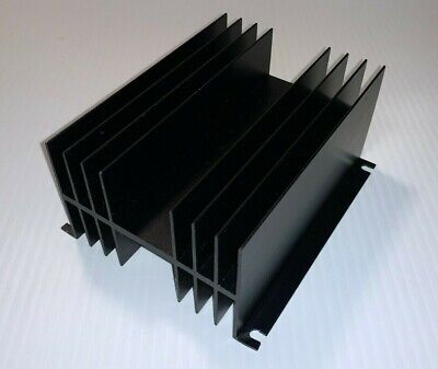 Wakefield 423-a Double Surface Heat Sink - To-3 - Black Anodized