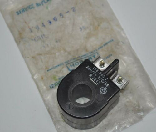 Hobart Solenoid Coil Part# 104365-2 New Old Stock Vintage Part