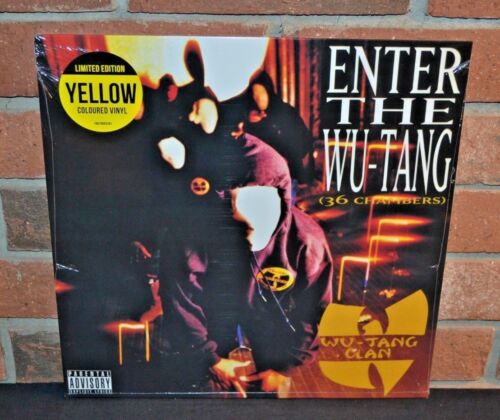 WU-TANG CLAN - Enter The Wu-Tang (36 Chambers) , Limited YELLOW VINYL LP Sealed!