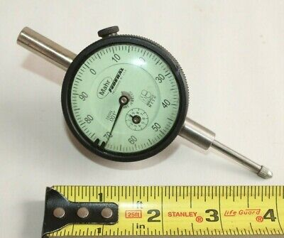 Mahr Federal 281sn Jeweled Green Dial Test Indicator .001