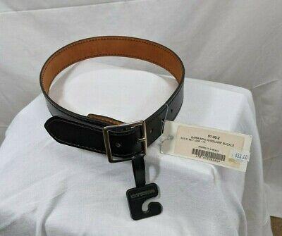 New Safariland Black Leather Police Duty Uniform Belt Size 30 Tactical Gear