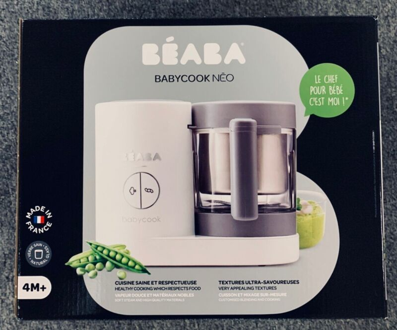 NEW Sealed Beaba 912646 Babycook Neo Cooker and Blender