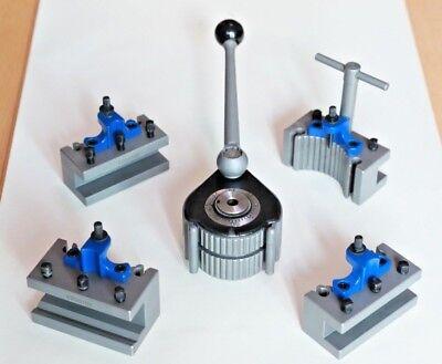 E5 40position Quick Change Tool Post Kit For 200-400mm Lathe 8 -16 Multifix E