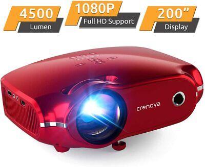 Mini Video Projector 720P Full HD Home Theater Portable XPE500 Wide Range Ports