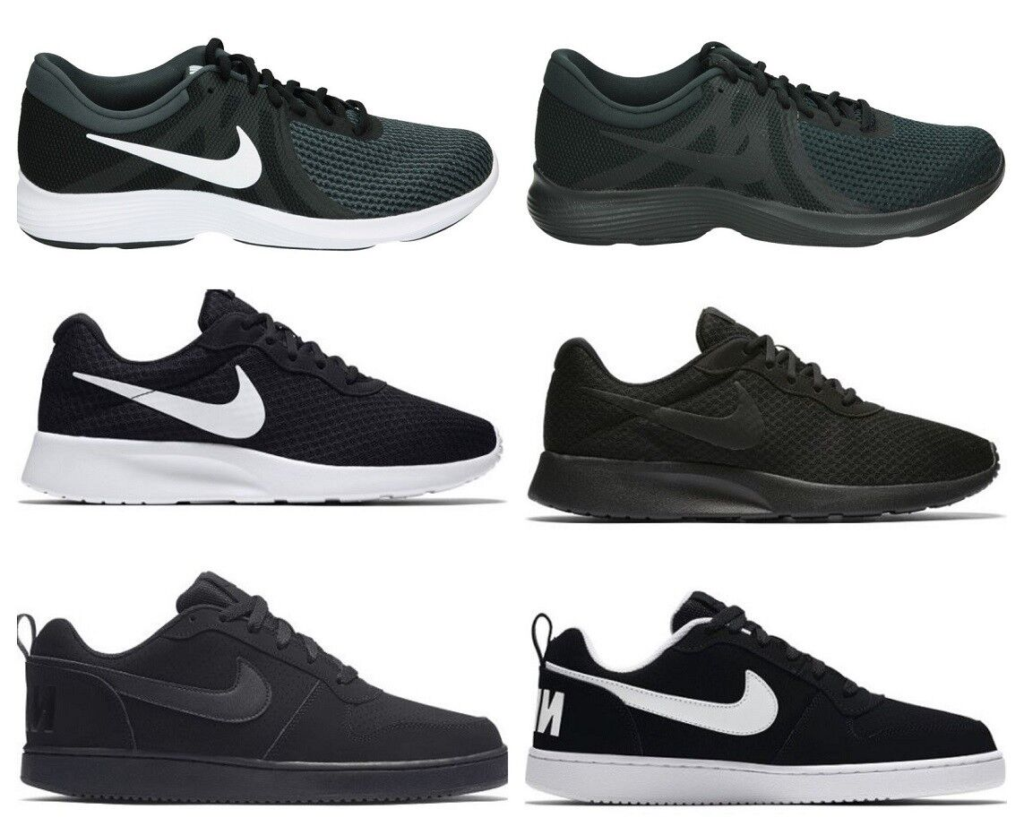 hot product popular stores top fashion Nike Mens TANJUN COURT BOROUGH LOW Trainers Running Gym Shoes Black