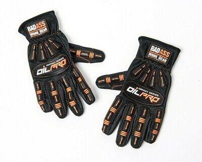 Bad Ass Work Gear Impact Resistant Oilfield Gloves