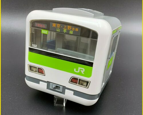Targa Yamanote Line Train Piggy Bank Savings Box toy Green Railway E-231 No Box