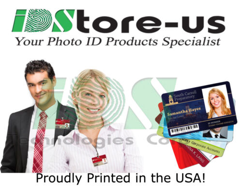 Full Color Custom Printed ID cards PVC, High Quality Printed Personalized ID