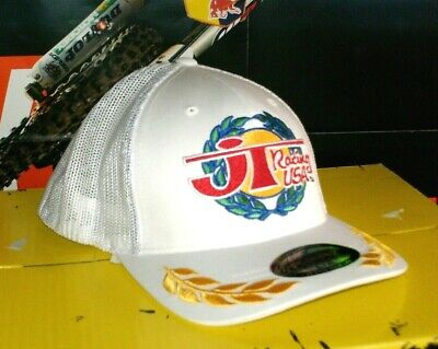 Flex Fit Trucker Cap (JT-RACING Trucker Cap Victory Weiß MX Cross Enduro KTM Neu Gr. L/XL Flex Fit Fly)