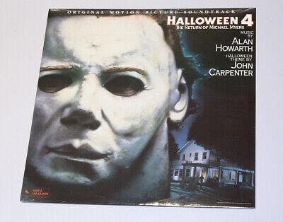 Halloween 4 Original Soundtrack OST 1988 Varèse Sarabande - - Halloween Ost