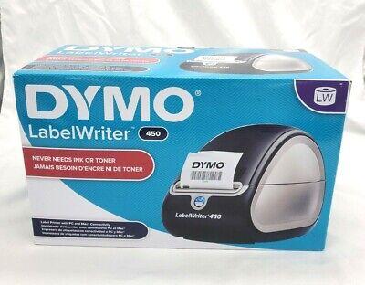 Dymo Label Printer Labelwriter 450 Direct Thermal Label Printer Great For Lab