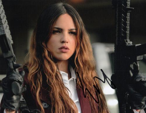 Eiza Gonzalez authentic signed Baby Driver 10x8 photo AFTAL & UACC [15838] + COA
