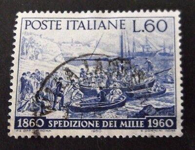 Italy-1960-Spedizione Dei Mille 60L Blue-Used