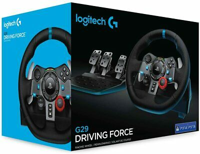 Brand New Logitech G29 Driving Force Racing Wheel - PS3, PS4, PC