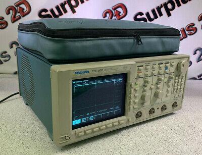Tektronix Tds520 500mhz500ss Two2 Channel Digitizing Oscilloscope