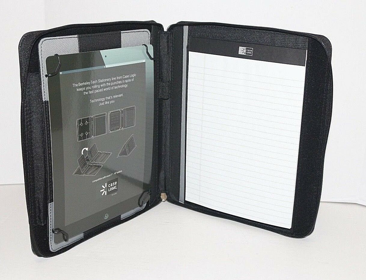 Ipad/Samsung tablet Holder Case Portfolio case Logic® Zippe