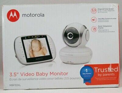 "Motorola MBP33XL 3.5"" Video Baby Monitor with Digital Zoom"