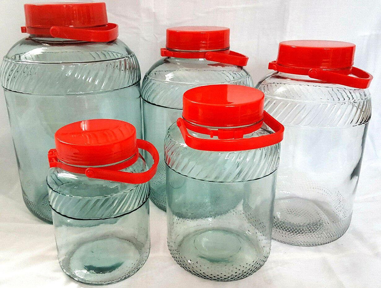 Einmachglas Gurkenglas Einmachgläser Den Kohl Den LIKÖR Vorratsgläser  Behälter