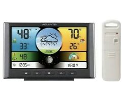 Chaney Instruments Digital Weather Station Weather Clock with Color Display