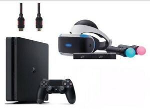 PlayStation 4 slim with VR