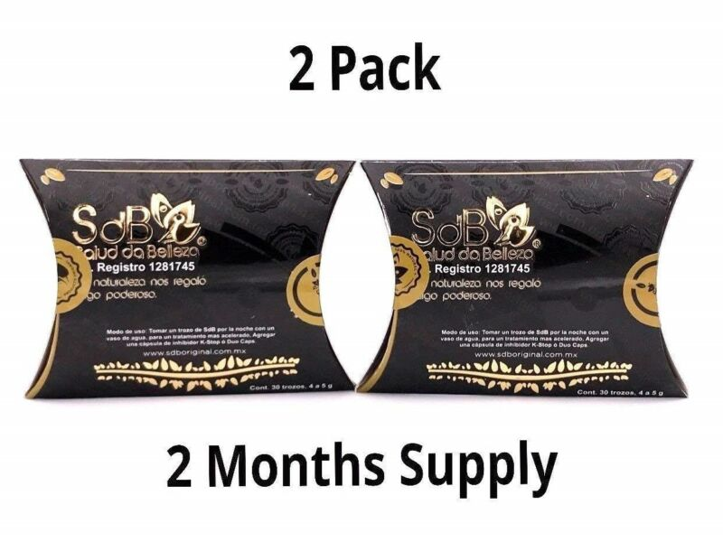 2 PACK Semilla de Brazil SdB 100% Authentic Brasil Seed Supplement - 60 DAYS