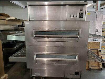 Middleby Marshall Ps360 Doublestack Gas Pizza Oven Conveyor Belt