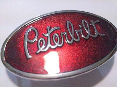 Peterbilt logo Classic metal Belt Buckle Beautiful gift Peterbilt motors