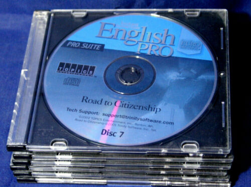 Instant Immersion English Pro Suite. 7 CD-ROMs by Topics Entertainment 2002