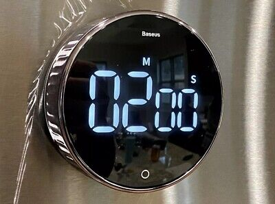 Baseus LCD Digital Kitchen Timer / Stop watch Magnetic Mount