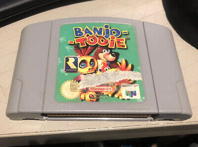Banjo Tooie N64 cart only, tested and working.