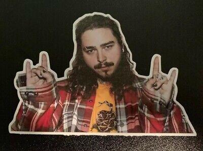 "2.5"" Post Malone Stoney Hip Hop Rap Singer Skate Music Colored Sticker Die -"