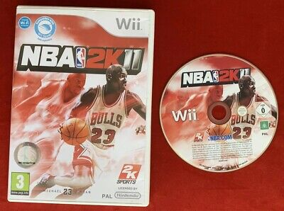 NBA 2K11 Game for Nintendo Wii / Wii U PAL (Nba Games For Wii)