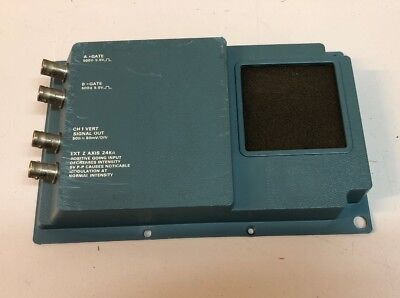 Tektronix 465 Oscilloscope Rear Cover With Input Output Connections