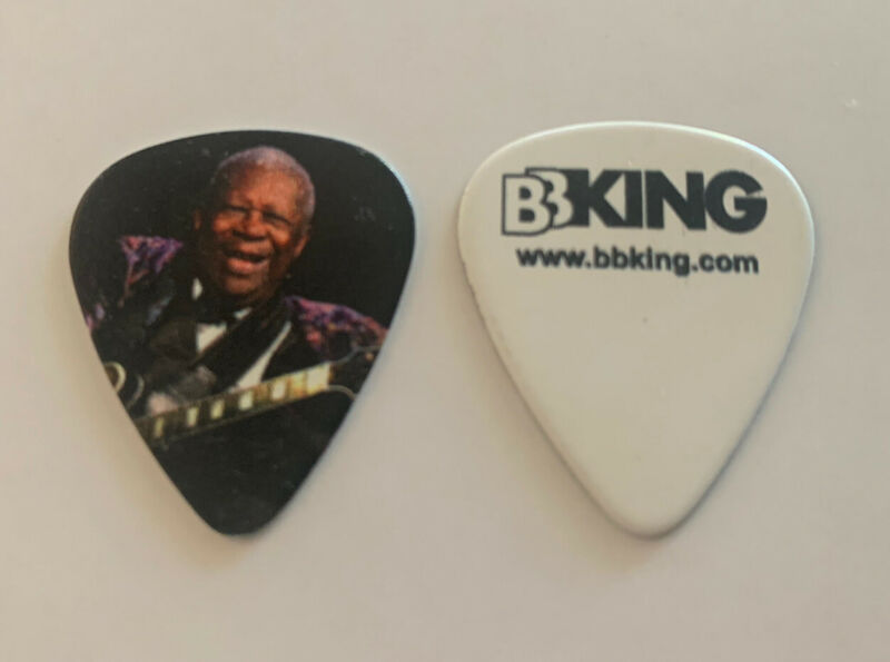 BB King King Of The Blues Music Raises Letters Tour Issued Guitar Pick