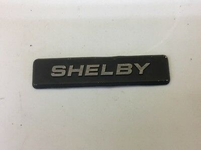 Dodge Shelby Shadow Dash Plaque Badge CSX 2.2 Turbo