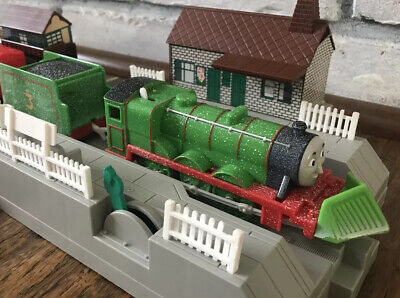 THOMAS Train Trackmaster Motorized Snow Clearing Henry w/Tender